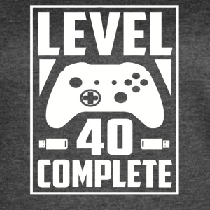Level 40 Complete - Women's Vintage Sport T-Shirt