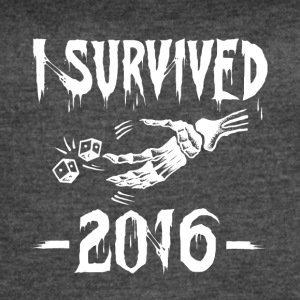 I survived 2016 - Women's Vintage Sport T-Shirt