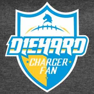 DIEHARD CHARGER FAN - Women's Vintage Sport T-Shirt
