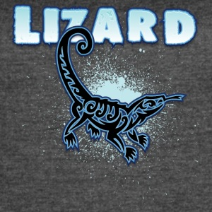 Lizard_with_text_7 - Women's Vintage Sport T-Shirt