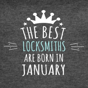 Best LOCKSMITHS are born in january - Women's Vintage Sport T-Shirt