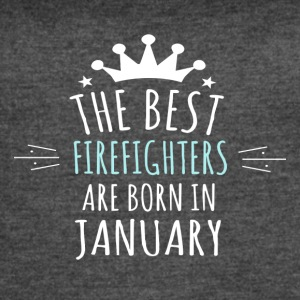 Best FIREFIGHTERS are born in january - Women's Vintage Sport T-Shirt