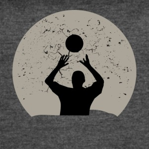 Volleyball Full Moon - Women's Vintage Sport T-Shirt