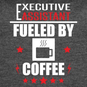 Executive Assistant Fueled By Coffee - Women's Vintage Sport T-Shirt