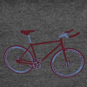 BIKE SINGLE SPEED - Women's Vintage Sport T-Shirt