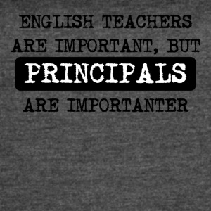 Principals Are Importanter - Women's Vintage Sport T-Shirt