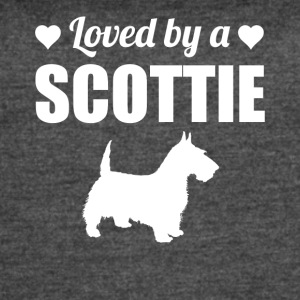 Loved By A Scottie - Women's Vintage Sport T-Shirt
