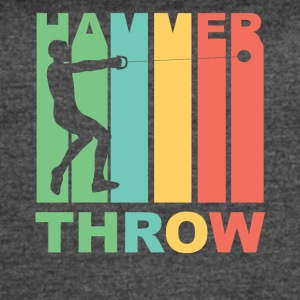Vintage Hammer Throw Graphic - Women's Vintage Sport T-Shirt