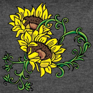 yellow_sunflowers - Women's Vintage Sport T-Shirt
