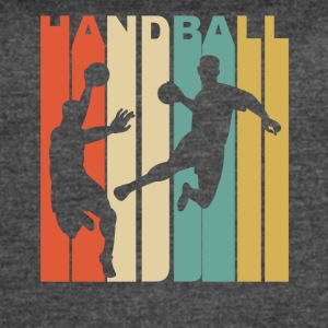 Vintage Handball Graphic - Women's Vintage Sport T-Shirt