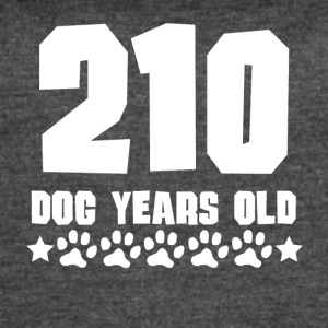 210 Dog Years Old Funny 30th Birthday - Women's Vintage Sport T-Shirt