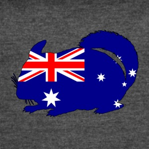 Australian Flag - Chinchilla - Women's Vintage Sport T-Shirt