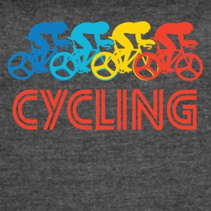Retro Cycling Pop Art - Women's Vintage Sport T-Shirt