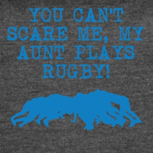 My Aunt Plays Rugby - Women's Vintage Sport T-Shirt