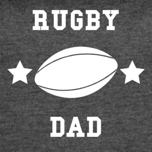 Rugby Dad - Women's Vintage Sport T-Shirt