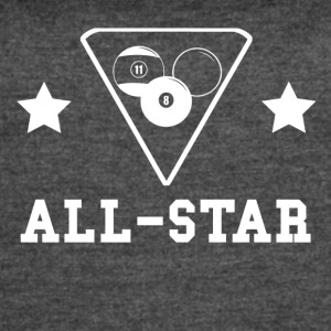 Billiards All Star - Women's Vintage Sport T-Shirt