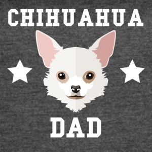 Chihuahua Dad Dog Owner - Women's Vintage Sport T-Shirt