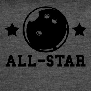 Bowling All Star - Women's Vintage Sport T-Shirt