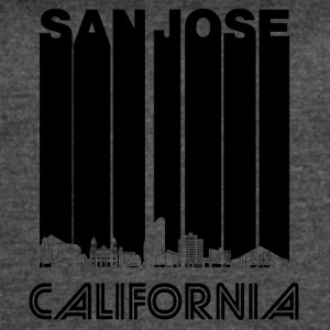 Retro San Jose California Skyline - Women's Vintage Sport T-Shirt