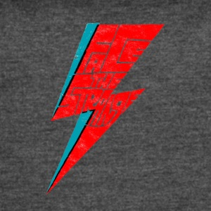 bowie face the strange - Women's Vintage Sport T-Shirt