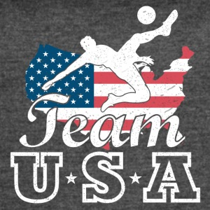 Team USA Soccer - Women's Vintage Sport T-Shirt