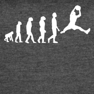 Basketball Evolution - Women's Vintage Sport T-Shirt