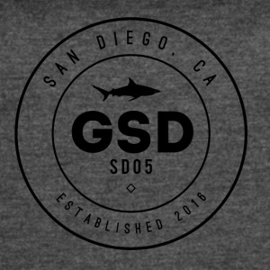 GSD BLACK SHARK - Women's Vintage Sport T-Shirt