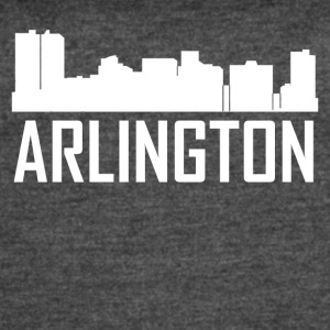 Arlington Texas City Skyline - Women's Vintage Sport T-Shirt