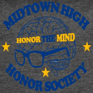Midtown High Honor The Mind Honor Society - Women's Vintage Sport T-Shirt