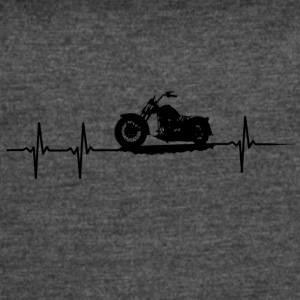 make a heartbeat design for Motorbike - Women's Vintage Sport T-Shirt