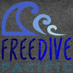 Freedive pacific - Women's Vintage Sport T-Shirt