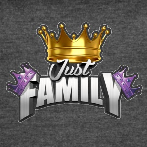 JustFamily Logo - Women's Vintage Sport T-Shirt
