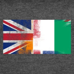 British Ivorian Half Ivory Coast Half UK Flag - Women's Vintage Sport T-Shirt