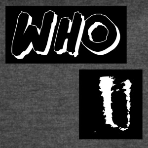 Who U Abstract Design - Women's Vintage Sport T-Shirt