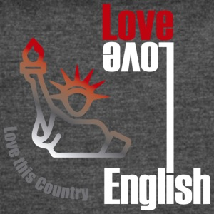Love English, love USA - Women's Vintage Sport T-Shirt