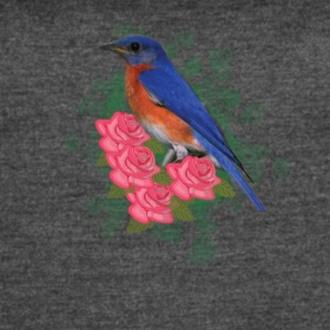 Bird and Roses - Women's Vintage Sport T-Shirt