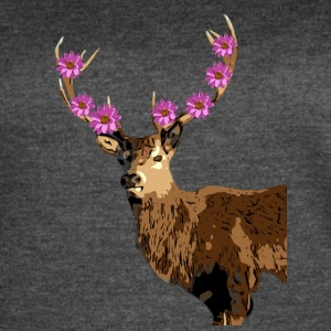 IMG 3082 Deer Spirit of the Forest Tee - Women's Vintage Sport T-Shirt