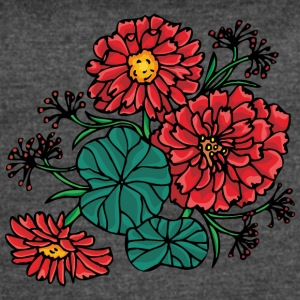 red_flower_bush - Women's Vintage Sport T-Shirt