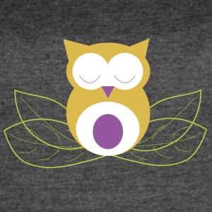 Sleeping owl - Women's Vintage Sport T-Shirt