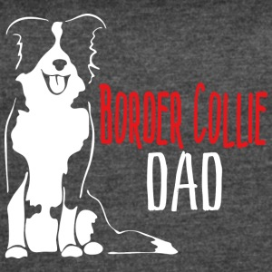 Border Collie Dad - Women's Vintage Sport T-Shirt