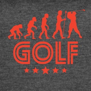 Retro Golf Evolution - Women's Vintage Sport T-Shirt
