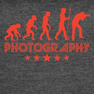 Retro Photography Evolution - Women's Vintage Sport T-Shirt