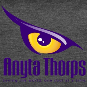 Anyta Thorps tagline - Women's Vintage Sport T-Shirt