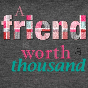 Friends Are Worth Stitches Set - Women's Vintage Sport T-Shirt