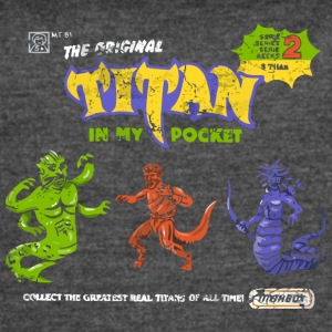 Titan in My Pocket - Women's Vintage Sport T-Shirt