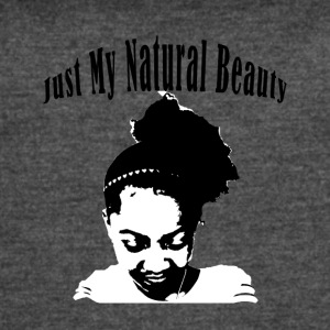 Just My Natural Beauty - Women's Vintage Sport T-Shirt