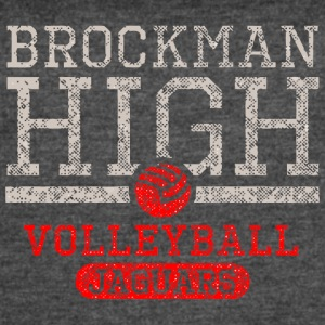 Brockman High Volleyball Jaguars - Women's Vintage Sport T-Shirt