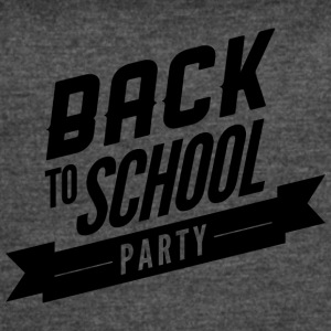 back_to_school_party - Women's Vintage Sport T-Shirt