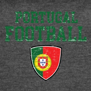 Portugal football designs - Women's Vintage Sport T-Shirt