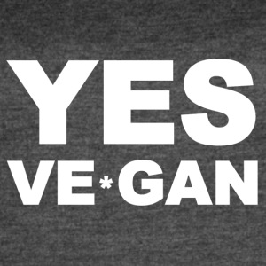 Yes Ve*Gan - Women's Vintage Sport T-Shirt